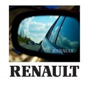Stickere geam Etched Glass - Renault (v2)