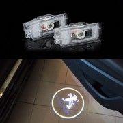 Set 2 Proiectoare Led Logo Dedicate Peugeot